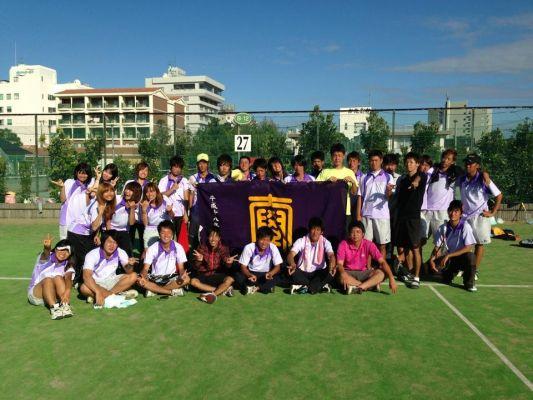 駒澤大学大学軟式庭球部
