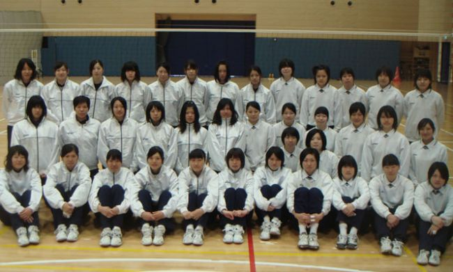 日本体育大学大学女子バレーボール部
