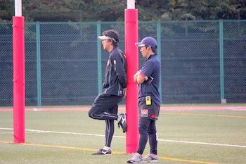 伊藤監督と田中コーチ