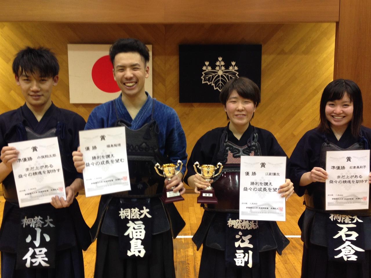 武ちゃんカップ(1月)優勝者