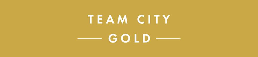 TEAM CITYゴールド